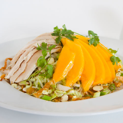Papaya Chicken Salad